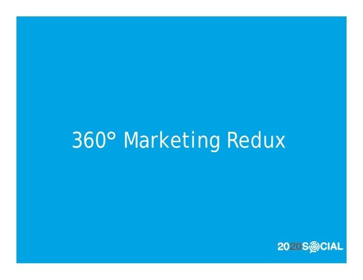 360° Marketing Redux