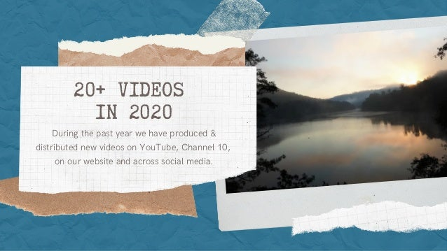 20+ VIDEOS IN 2020 During the past year we have produced & distributed new videos on YouTube, Channel 10, on our website a...