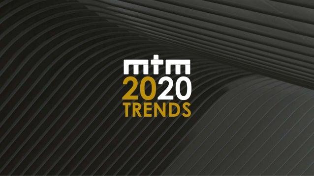 1 2020 TRENDS
