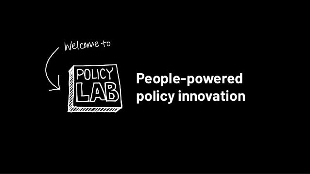 People-powered policy innovation