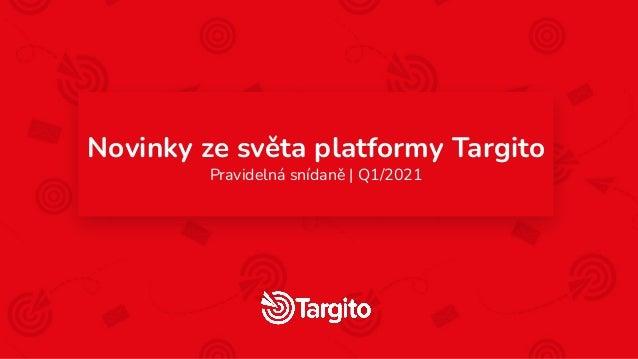 Novinky ze světa platformy Targito Pravidelná snídaně | Q1/2021