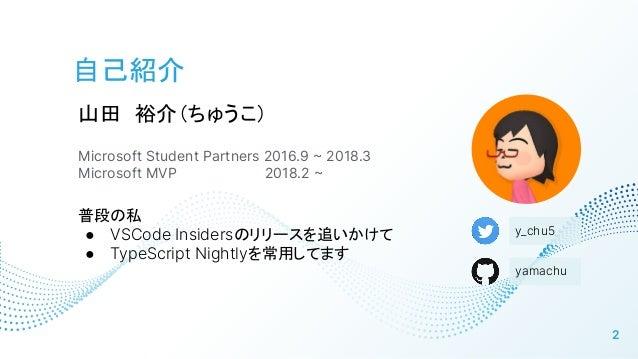 Microsoft Build 2021 前夜祭LT Slide 2