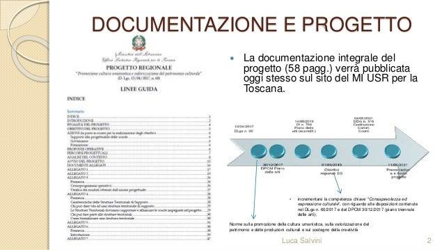 piano arti conferenza servizio presentazione progetto Slide 2