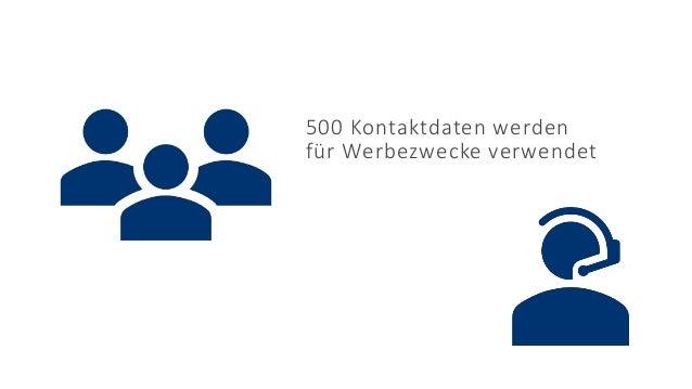 17.06.2021 © 2021 - IBsolution GmbH 5 500 Kontaktdaten werden für Werbezwecke verwendet