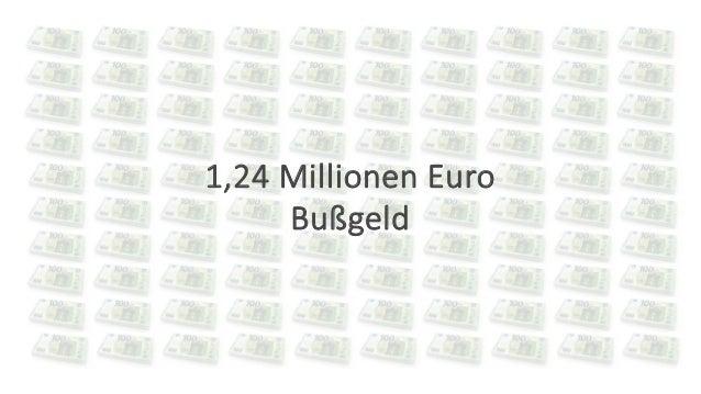 17.06.2021 © 2021 - IBsolution GmbH 6 1,24 Millionen Euro Bußgeld