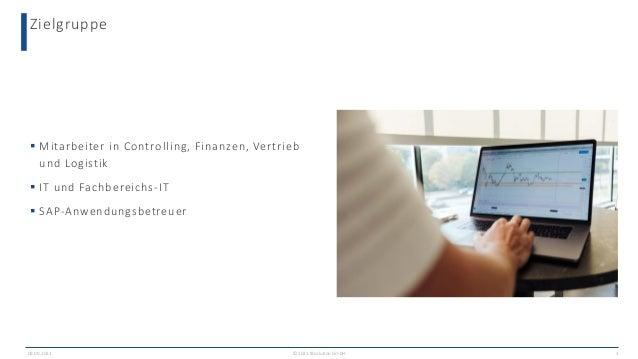 Flexible Analysen in Finance und Vertrieb mit SAP S/4HANA Slide 3