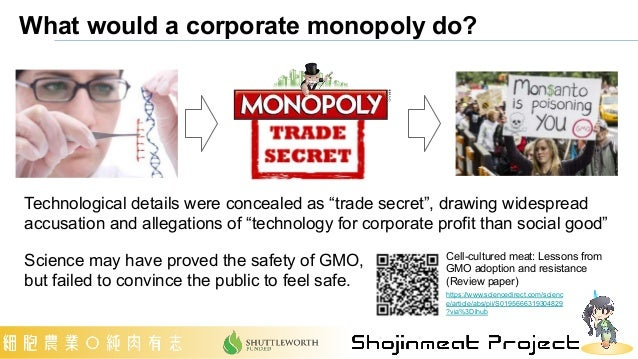 """What would a corporate monopoly do? Technological details were concealed as """"trade secret"""", drawing widespread accusation ..."""
