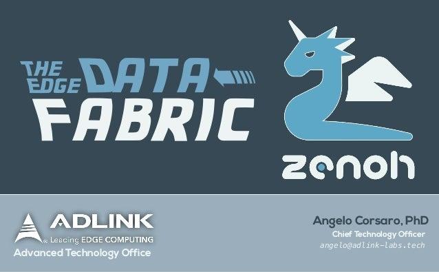 zenoh: The Edge Data Fabric Slide 1