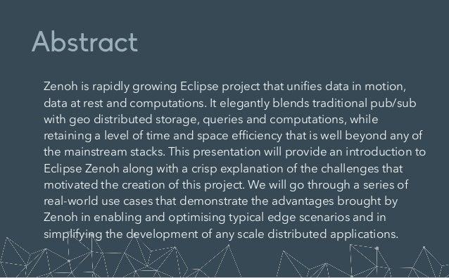 zenoh: The Edge Data Fabric Slide 2