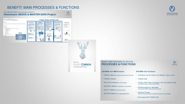 15 BENEFIT: MAIN PROCESSES & FUNCTIONS