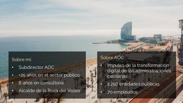 2021.06.22 La experiencia de teletrabajo de l'Administració Oberta de Catalunya Slide 2