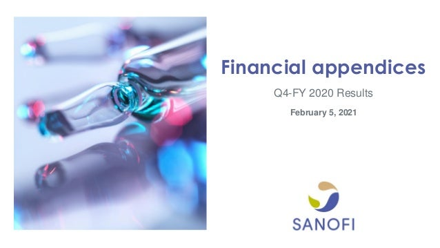 Q4-FY 2020 Results Financial appendices February 5, 2021