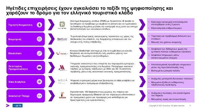 Ηγέτιδες επιχειρήσεις έχουν αγκαλιάσει το ταξίδι της ψηφιοποίησης και χαράζουν το δρόμο για τον ελληνικό τουριστικό κλάδο ...