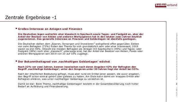 Online-Umfrage zur nachhaltigen Geldanlage Slide 2
