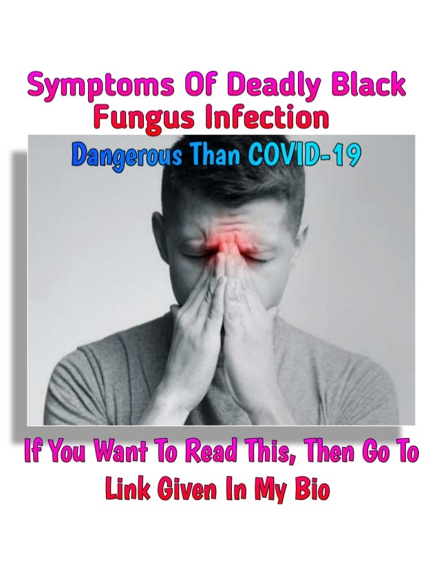 New Deadly Black Fungus Infection