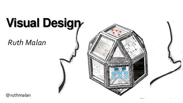 Visual Design Ruth Malan @ruthmalan