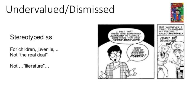 """Undervalued/Dismissed """"Scott McCloud's Understanding Comics is a powerful piece of polemic. It is also a work of theory"""" —..."""