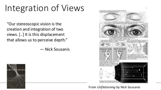 """Rhizomatic We use different perspectives to transcend and see the connectedness that is otherwise obscured """"this expansive..."""