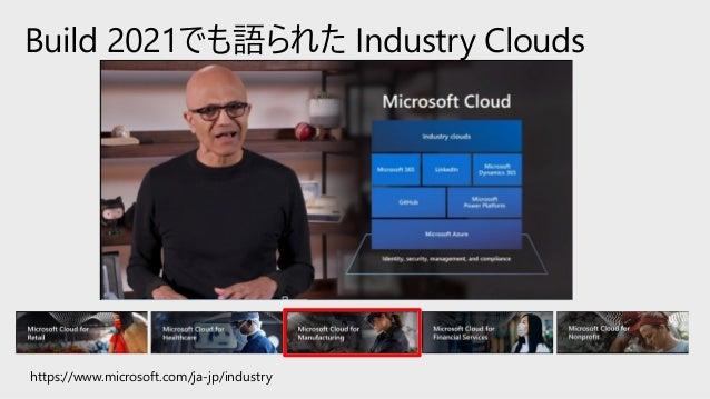 製造業のDX最新動向、 ハノーバーメッセでマイクロソフトが伝えたこと。 Slide 3