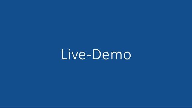 15.06.2021 © 2021 - IBsolution GmbH 24 Live-Demo