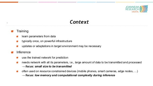 Context Training learn parameters from data typically once, on powerful infrastructure updates or adaptations in target en...