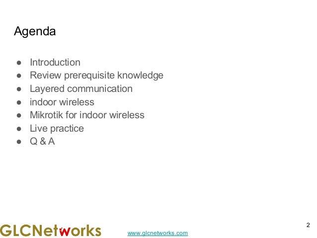 Building Indoor Wireless Network Slide 2