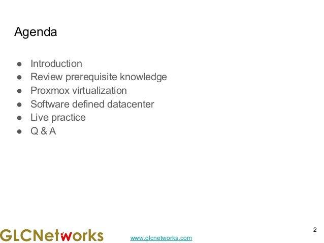 Software Defined Datacenter with Proxmox Slide 2