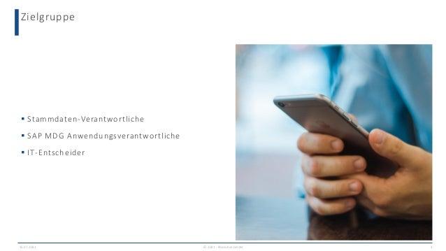 Fast schon wie ein Maßanzug: Welche SAP MDG Projektgröße passt zu Ihnen? Slide 3
