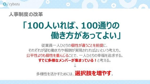 100人100通りの働き方を支えるサイボウズ流情報システム部門の在り方