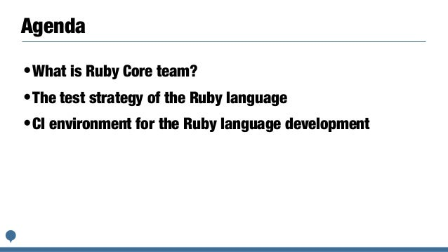The details of CI/CD environment for Ruby Slide 3