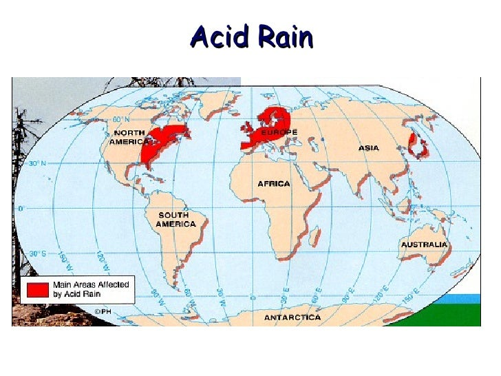 the effects of acid rain in north america The oceans feel impacts from acid rain  carbon dioxide from fossil fuels produces the same effects  tend to be downwind of eastern north america,.