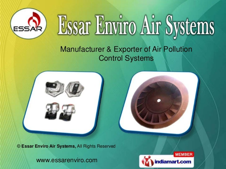 Manufacturer & Exporter of Air Pollution<br />Control Systems<br />