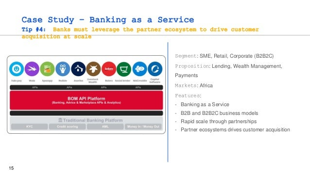 15 Case Study – Banking as a Service Tip #4: Banks must leverage the partner ecosystem to drive customer acquisition at sc...