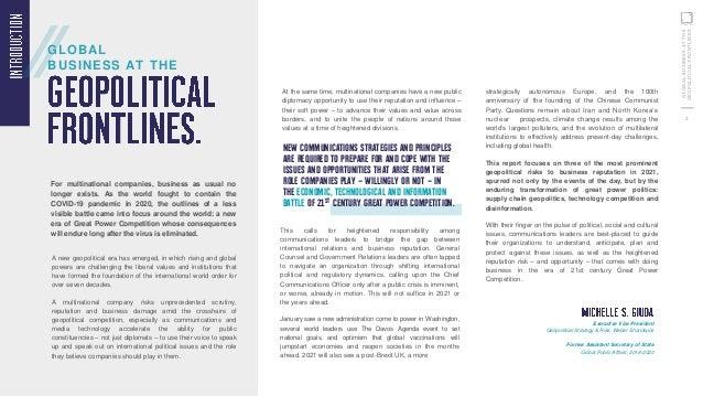 Global Business at the Geopolitical Frontlines Slide 3