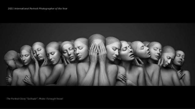 "The Portrait Story ""Solitude"". Photo: Forough Yavari 2021 International Portrait Photographer of the Year"