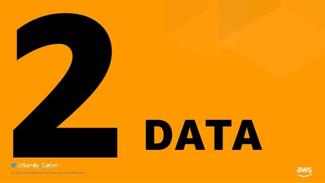 © 2020, Amazon Web Services, Inc. or its Affiliates.© 2020, Amazon Web Services, Inc. or its Affiliates. 2DATA