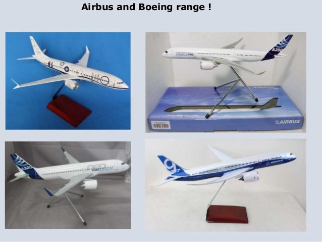 Airbus and Boeing Models for Airlines