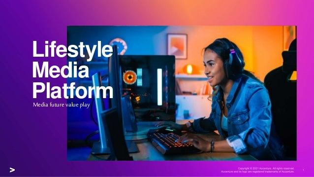 Lifestyle Media Platform Media future value play