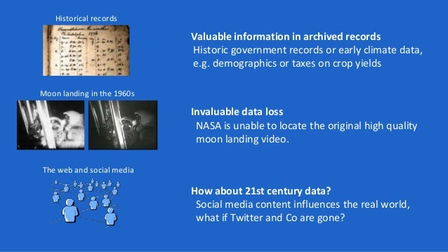BESOCIAL A Knowledge Graph for Social Media Archiving Slide 2