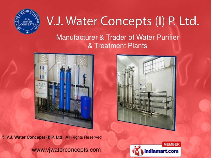 Manufacturer & Trader of Water Purifier<br />& Treatment Plants<br />