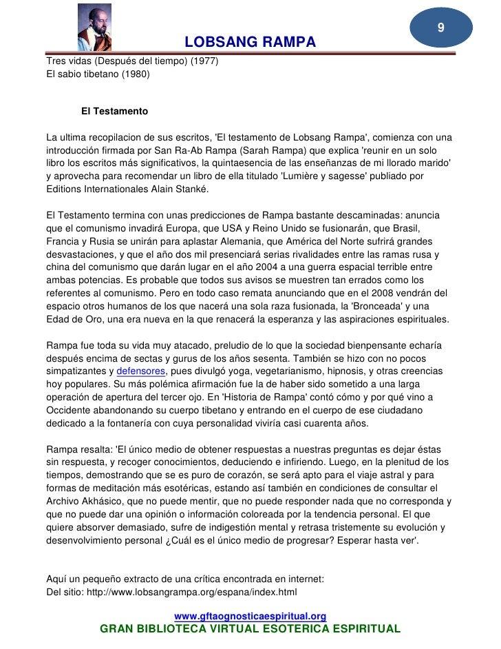 Lobsang Rampa El Cordon De Plata Ebook