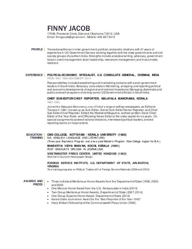 Resume For Li