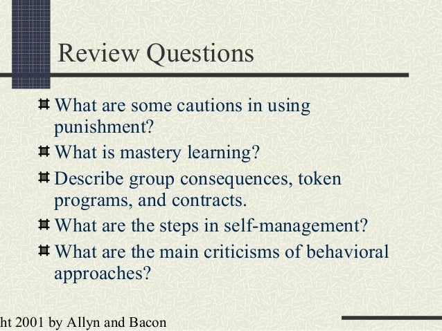 an analysis of behavioral modification approach by reinforcement and punishment Skinner on reinforcement and punishment may 12, 2016 baquarterly this is probably owed more to my inability to keep up with a identifying a rarely used definition throughout all of behavior analysis i must the flipped approach: appealing features to behavior analysts recent.