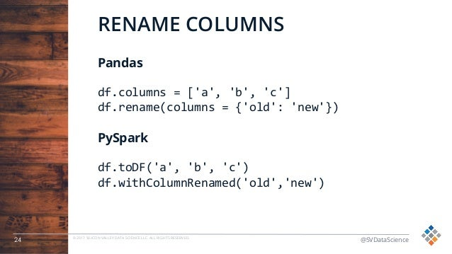 Data Wrangling with PySpark for Data Scientists Who Know