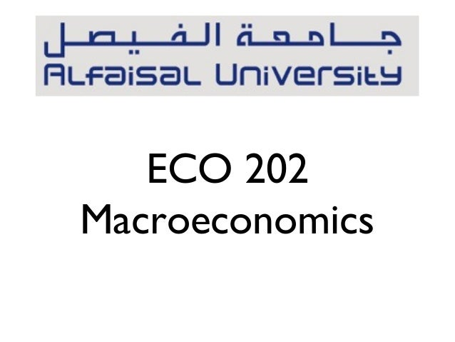 ECO 202Macroeconomics