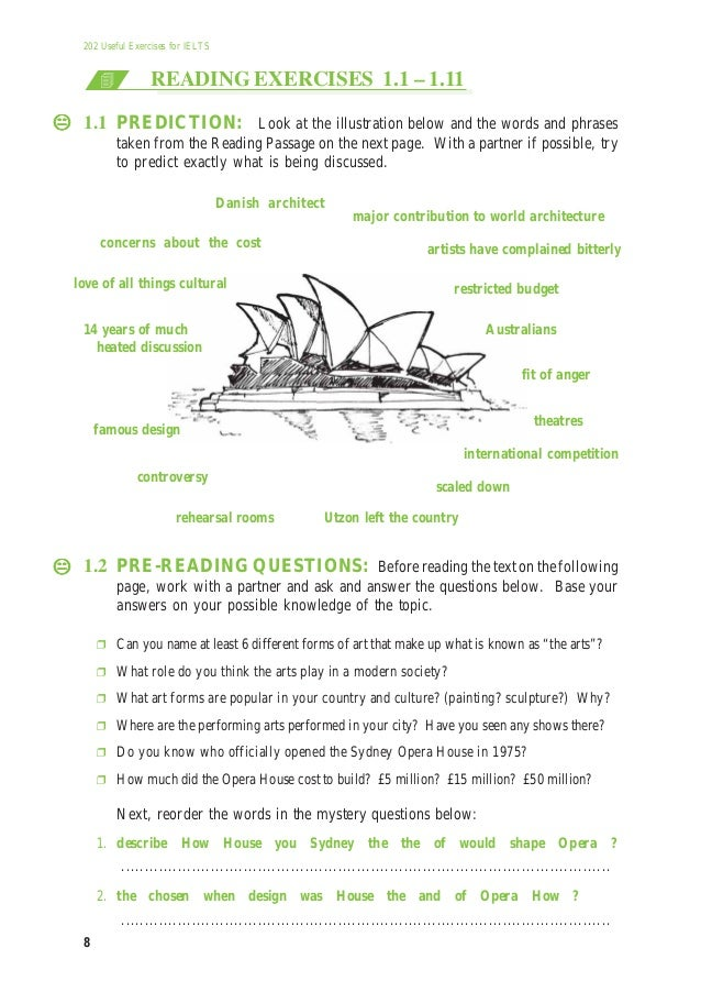202 useful exercises for ielts pdf