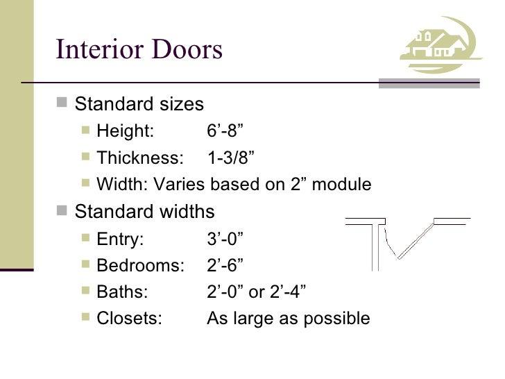 ... 5. Interior Doors ...