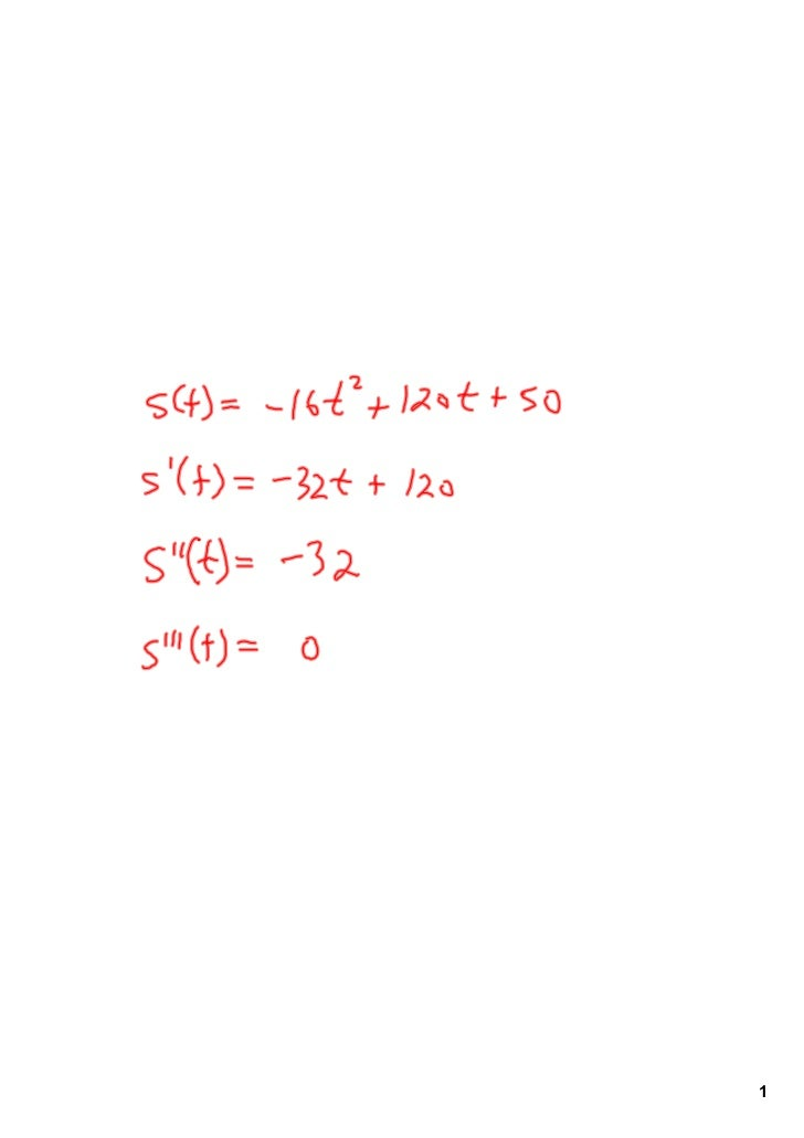 Harvard Calculus Chapter 2 Lesson 3