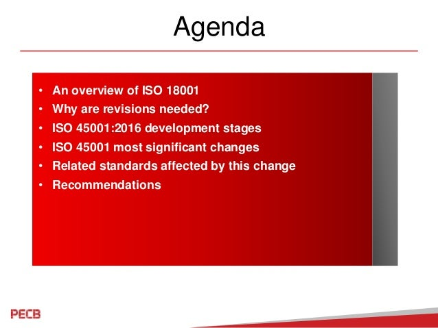 Migration from OHSAS 18001 to ISO 45001 Slide 3