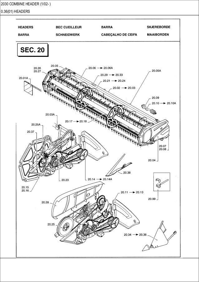 Combine Parts Of The Slideshow : Case combine header parts catalog